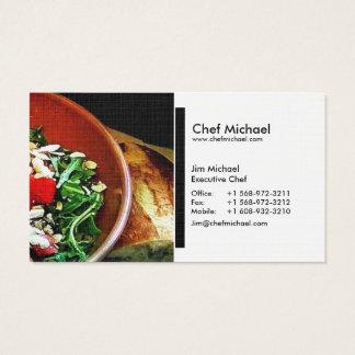 (Cozinheiro chefe/restaurante/restauração) cartões