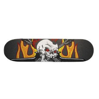 Cr�ne punk - shape de skate 19,7cm
