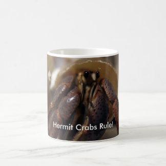 crabby, regra dos caranguejos de eremita! caneca de café