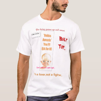"""crachá - adicione por favor o texto do name """" t-shirts"""