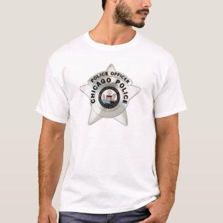 Crachá da polícia de Chicago Camiseta