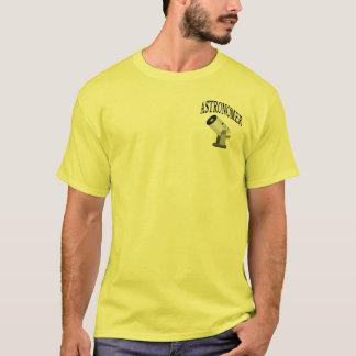 Crachá do astrónomo de SCT Tshirts