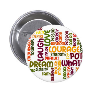 Crachá inspirador das palavras #1 botons