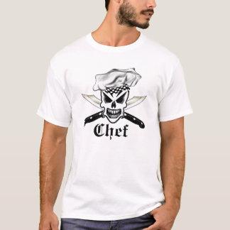 Crânio 2 do cozinheiro chefe tshirts