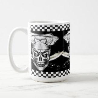 Crânio 3,1 do cozinheiro chefe caneca de café