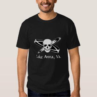 Crânio de Anna do lago T-shirts