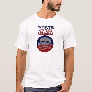 Crânio de Obama dos Estados da União T-shirts