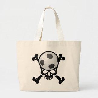 Crânio do futebol bolsa para compras
