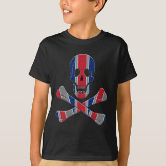 Crânio e Crossbones Union Jack Camiseta