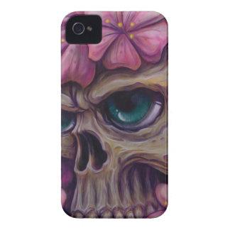crânio feminino capa para iPhone 4 Case-Mate
