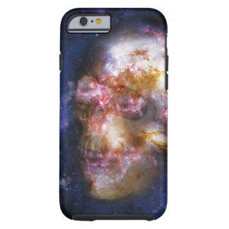 Crânio humano nas estrelas capa tough para iPhone 6