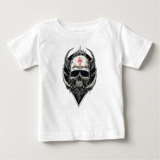 Crânio mau do diamante de Viking Tshirt