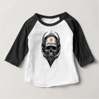 Crânio mau do diamante de Viking Tshirts