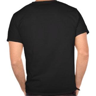 Crânio preto t-shirt