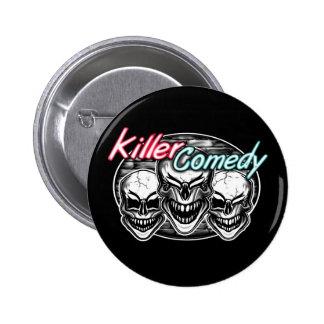 Crânios de riso: Comédia do assassino Bóton Redondo 5.08cm