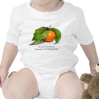 Creeper do café da tangerina camisetas