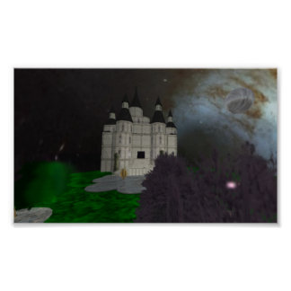 crepúsculo do castelo poster