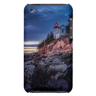 Crepúsculo sobre o farol baixo do porto, Acadia Capas iPod Barely There