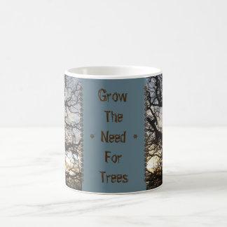 Cresça a necessidade para árvores: Caneca