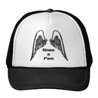 Cresça o chapéu das asas boné