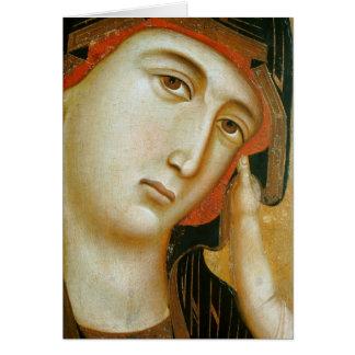 Crevole Madonna c1280 Cartões
