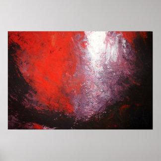 Criação moderna do impressão da arte da pintura do