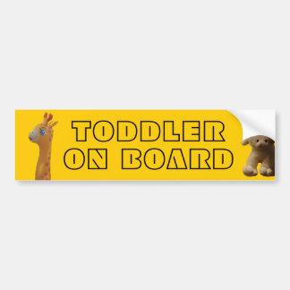 Criança a bordo adesivo para carro
