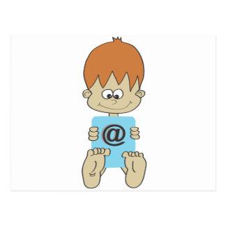 Criança Cartão Postal