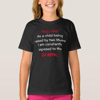 Criança com duas mães: A agenda alegre revelada! T-shirt