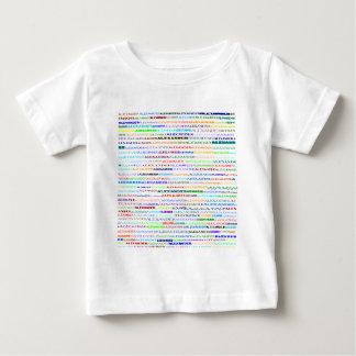 Criança da camisa do design de texto II de
