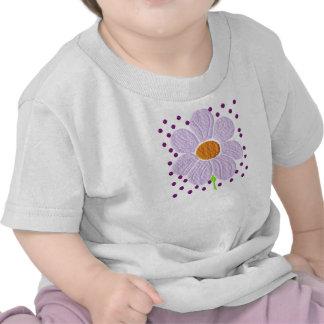 Criança da margarida & camisa roxas da criança camisetas