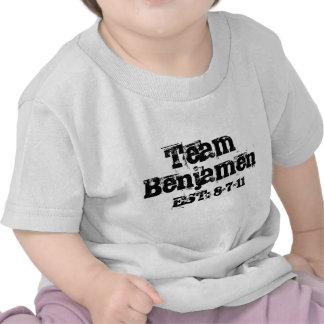 Criança de Benjamen da equipe Tshirt
