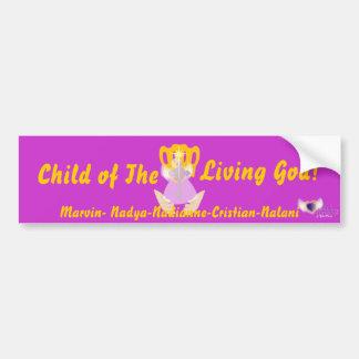 Criança do deus vivo! - Personalize Adesivo Para Carro