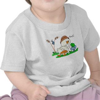 Criança do grasnado do pato & camisa da criança tshirt