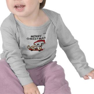Criança do Natal Camisetas
