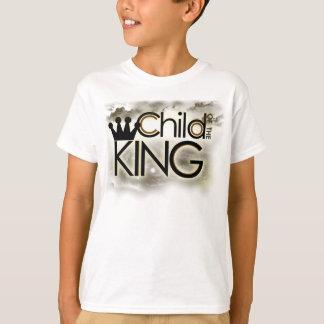 Criança do tshirt do rei Criança (meninos/meninas)