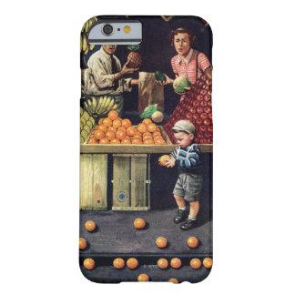 Criança e laranjas capa barely there para iPhone 6