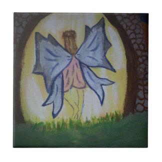 Criança Fairy.jpg Azulejo Quadrado Pequeno