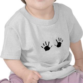 Criança Handprints T-shirts