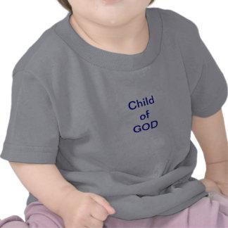 Criança infantil do DEUS T-shirt