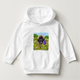 Criança Ludwig o Hoodie do filhote de cachorro de T-shirt