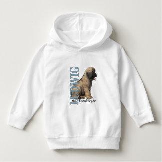 Criança Ludwig o Hoodie do filhote de cachorro de T-shirts