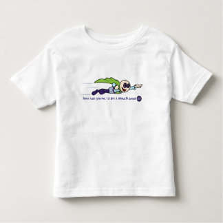 """Criança """"mundo para mudar"""" o t-shirt do jérsei"""