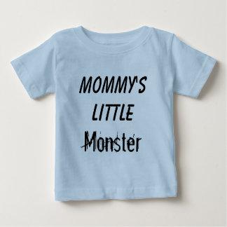 Criança pequena do monstro da mamã/Tshirt infantil T-shirts