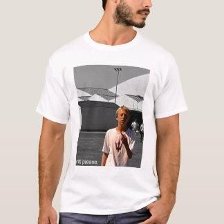 criança por favor t-shirts