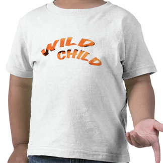 Criança selvagem tshirts