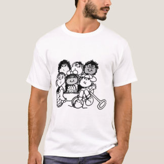 Crianças da caricatura tshirt