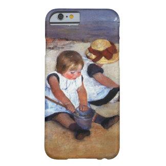 Crianças de Mary Cassatt na praia Capa Barely There Para iPhone 6