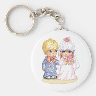 Crianças do casamento chaveiro