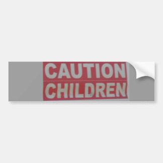 Crianças do cuidado adesivo para carro
